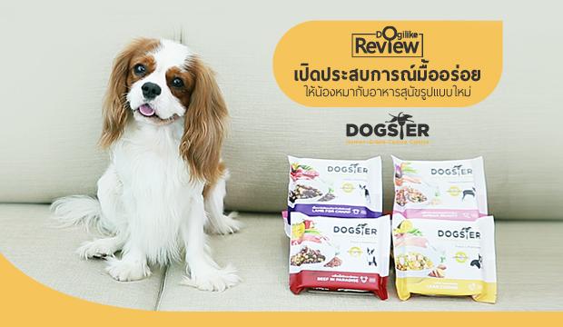 เปิดประสบการณ์มื้ออร่อยให้น้องหมากับอาหารสุนัขรูปแบบใหม่ Dogster